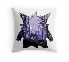 POISONED FOREST Throw Pillow