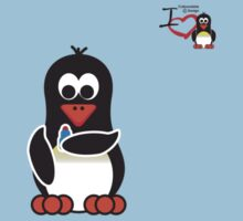 Domestic Penguin - Lipstick Kids Clothes