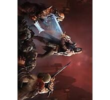 Shadow of Mordor Phone case Photographic Print