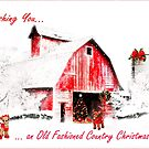 Old Fashioned Country Christmas by Nadya Johnson