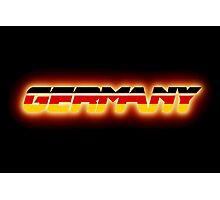 Germany - German Flag Logo - Glowing Photographic Print