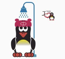Domestic Penguin - Shower by jimcwood