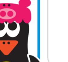 Bathroom Penguin - Shower Sticker