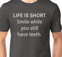 Funny Sarcastic Humor Life Is Short Novelty Joke Unisex T-Shirt