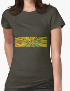 Colour Rays Womens Fitted T-Shirt