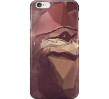Low Polygon Wrex iPhone Case/Skin