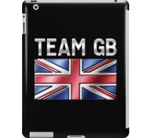 Team GB - British Flag & Text - Metallic iPad Case/Skin