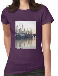 Dragnet Womens Fitted T-Shirt