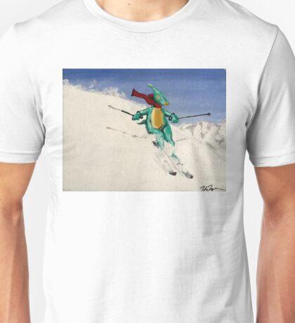 SkiDino Unisex T-Shirt