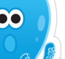 Bathroom Penguin - Octopus! (Octopeng) Sticker