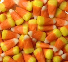 Candy Corn Halloween Candies Sticker