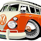 VW Type 2 bus by car2oonz