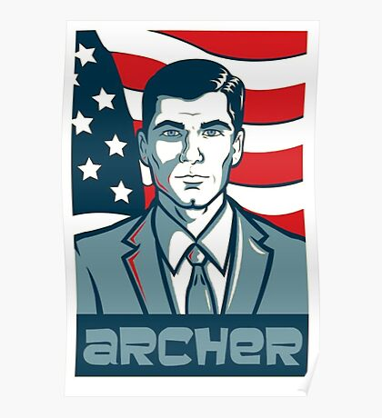 archer for america  Poster