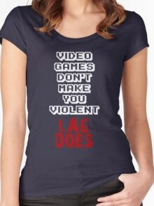 Fault of Lag Women's Fitted Scoop T-Shirt