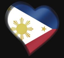 Filipine Flag - Philippines - Heart by graphix