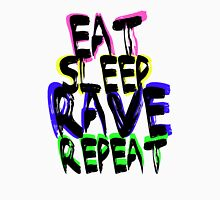 eat, sleep, rave, repeat, t-shirt Unisex T-Shirt
