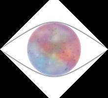 Galactic Eye (Black) by kkkevinacunaaa