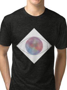 Galactic Eye (Black) Tri-blend T-Shirt