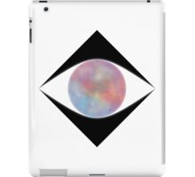 Galactic Eye (White) iPad Case/Skin