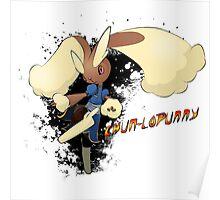 Chun-Lopunny Poster