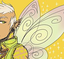 Tinkerbell male version- Peter Pan  by SarenH