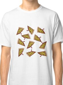 Pizza Collage Classic T-Shirt