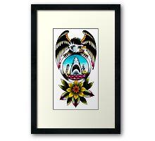 JAWS Eagle Framed Print