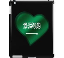Saudi Arabian Flag - Saudi Arabia - Heart iPad Case/Skin