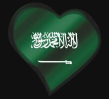 Saudi Arabian Flag - Saudi Arabia - Heart by graphix