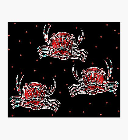 GREEK CRAB Photographic Print