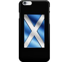 Scottish Flag - Scotland - Metallic iPhone Case/Skin