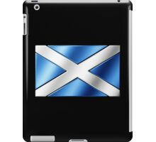 Scottish Flag - Scotland - Metallic iPad Case/Skin