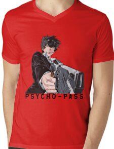 Anime: PSYCHO-PASS Mens V-Neck T-Shirt