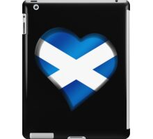 Scottish Flag - Scotland - Heart iPad Case/Skin