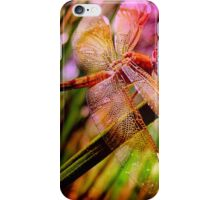 DRAGONFLY GOLDEN HARMONY iPhone Case/Skin