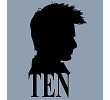 Tenth Doctor  Photographic Print