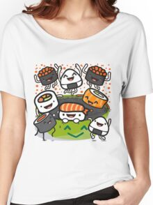 Sushi Victory Women's Relaxed Fit T-Shirt
