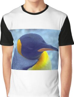 Colorful Penguin Graphic T-Shirt