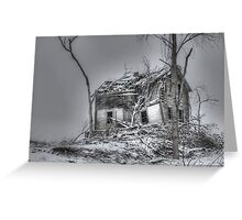 Frozen in Silence Greeting Card