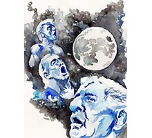 Three WOO Moon Photographic Print