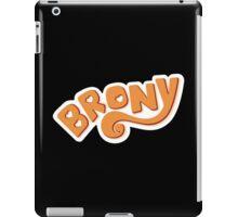 Brony Logo - Orange iPad Case/Skin