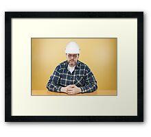 Engineer Framed Print