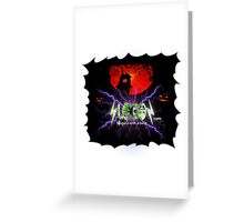 Cool Holloween designs Greeting Card