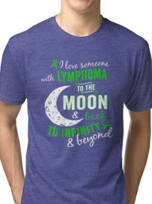 Lymphoma Awareness - Lymphoma Shirt For Women/Men Tri-blend T-Shirt