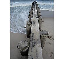 Longshore Drift Photographic Print