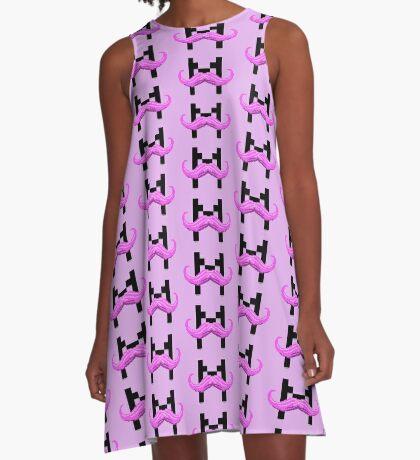 Markiplier Stash On Pink A-Line Dress