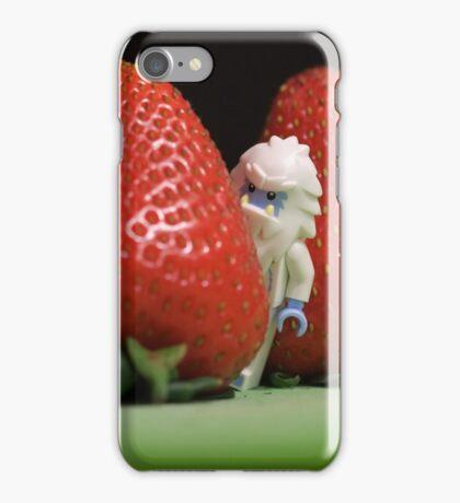 Hide n' Seek in the Strawberry Forest iPhone Case/Skin