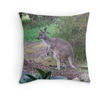 'Floe Senses she is being watched! Adelaide Hills, Sth. Australia. Throw Pillow