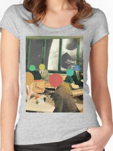 Bar with a view (without frame). Women's Fitted Scoop T-Shirt