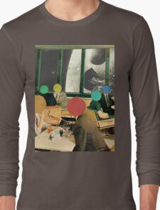 Bar with a view (without frame). Long Sleeve T-Shirt